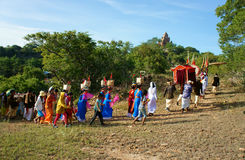 Amazing panoramic,Kate festival, Cham traditional culture Royalty Free Stock Photography
