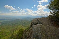 Amazing panoramic view Stock Photography