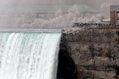 Amazing picture with the Niagara Falls Royalty Free Stock Photo