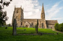 Church in Swindon. An amazing and picturesque Church in Liddington, close to swindon Wiltshire stock image