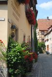 Amazing place for living. Germany. A long time ago Royalty Free Stock Photos