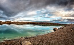 Iceland geothermal area called Seltún. stock image