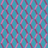 Amazing pop-art blue vintage geometric element pattern Stock Image