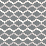 Amazing pop-art grey vintage geometric pattern Royalty Free Stock Photography