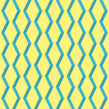 Amazing pop-art yellow vintage geometric element pattern Stock Photography