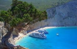 Amazing Porto Katsiki beach, Greece Stock Photo