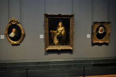 Rembrandt at the National portrait Gallery , London Royalty Free Stock Photography