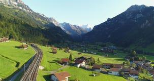 Foothills of Switzerland stock footage