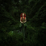 Amazing redhaired fashion women Royalty Free Stock Photos