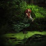 Amazing redhaired fashion women Stock Photos