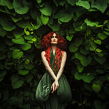 Amazing redhaired fashion women Royalty Free Stock Images