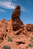 Amazing Rock Formation in Valley of Fire State Park Royalty Free Stock Image