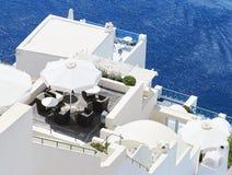 Amazing romantic Santorini island, Greece Stock Image