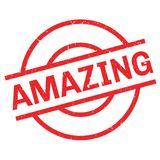 Amazing rubber stamp Stock Image