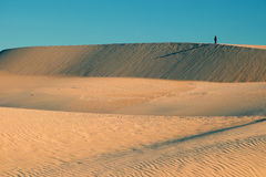Amazing sand hill to adventure travel for summer trip Stock Images