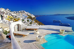Amazing Santorini vacation Royalty Free Stock Image