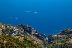 Amalfi Coast - Campania Region, Italy. Amazing Scenery Of Amalfi Coast - Salerno Province, Campania Region, Italy, Europe stock image