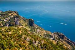 Amalfi Coast - Campania Region, Italy. Amazing Scenery Of Amalfi Coast - Salerno Province, Campania Region, Italy, Europe stock photos