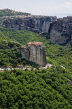 Amazing scenery in Meteora, Greece Stock Photo