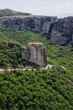 Amazing scenery in Meteora, Greece Stock Photo