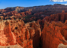 Amazing scenic view of the hoodoos. Bryce Canyon National Park, Royalty Free Stock Images