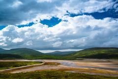 Amazing Scottish Landscape Stock Image