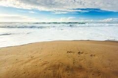 Amazing sea view stock image