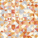 Amazing seamless colorful geometric pattern Stock Image