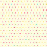 Amazing seamless colorful geometric pattern Stock Photo