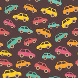 Amazing seamless vintage car pattern Stock Image