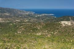 Seascape of Sithonia peninsula, Chalkidiki, Central Macedonia, Greece. Amazing Seascape of Sithonia peninsula, Chalkidiki, Central Macedonia, Greece stock photography