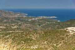 Seascape of Sithonia peninsula, Chalkidiki, Central Macedonia, Greece. Amazing Seascape of Sithonia peninsula, Chalkidiki, Central Macedonia, Greece royalty free stock images