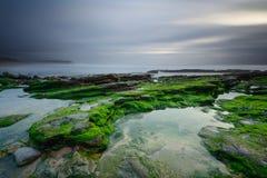 Amazing seascape at sunset Royalty Free Stock Images