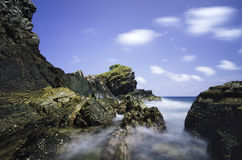 Amazing seascape view at Kapas Island, Terengganu, Malaysia. Royalty Free Stock Photography