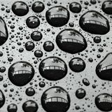Water drops background royalty free stock photography