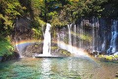 Amazing shiraito falls Royalty Free Stock Photos