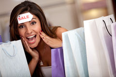 Amazing shopping sale Stock Photos