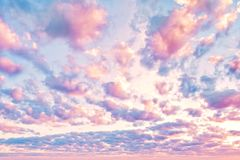 Amazing sky clouds background. Beautiful clouds on sky.  royalty free stock image