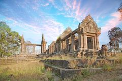 Free Amazing Sky In The Top Of Preah Vihear Temple Is Located In A Pleasant Environment With An Attractive In Cambodia Stock Photo - 119734100