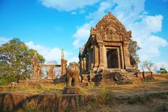 Free Amazing Sky In The Top Of Preah Vihear Temple Is Located In A Pleasant Environment With An Attractive In Cambodia Royalty Free Stock Images - 119942979
