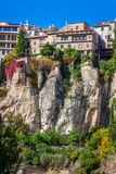 Amazing Spain - city on cliff rocks - Cuenca Stock Photos