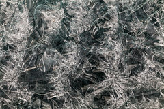 Amazing sparkling icy texture. Royalty Free Stock Photo