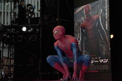 The Amazing Spider-Man Stock Images
