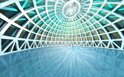 Free Amazing Spiritual Architectural Swiming Pool Dome Royalty Free Stock Images - 25977059