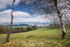 Amazing spring countryside Royalty Free Stock Photos