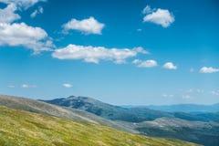 Amazing spring ukrainian mountains Royalty Free Stock Image