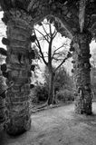 Parc Guell is the famous and beautiful park designed by Antoni Gaudi Royalty Free Stock Photography