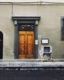 Amazing street life of europe royalty free stock image