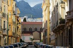 Amazing street view Stock Image