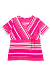 Amazing striped dress. Royalty Free Stock Images